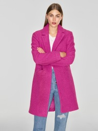 Pink Crombie Coat, £35, Straight Jean, £16 from George